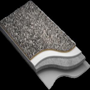Покрытие из натуральной каменной крошки