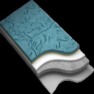 Фактурно-полимерное покрытие